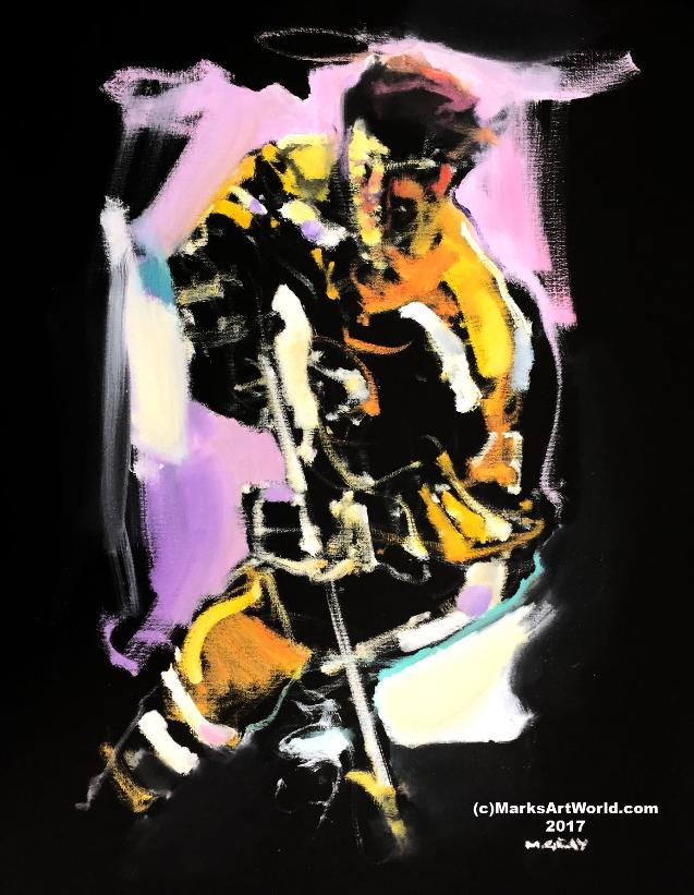 Bobby Orr Painting